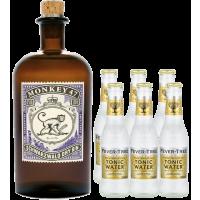 Gin Tonic Set: Monkey 47 + 6x Fever-Tree Indian Tonic Water