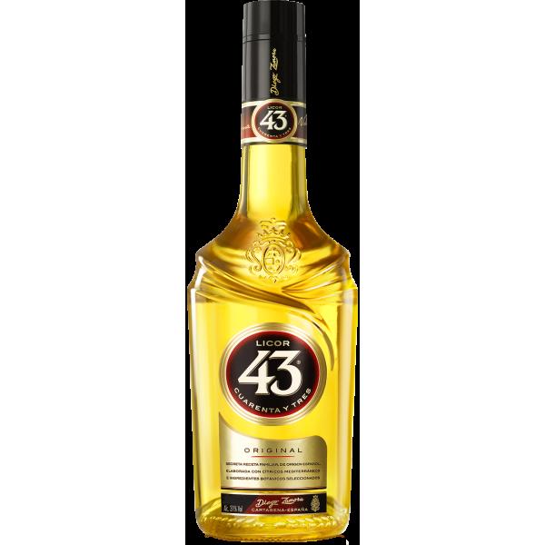 Licor 43 Original Cuarenta y Tres 31,0% Vol., 1,0 Liter