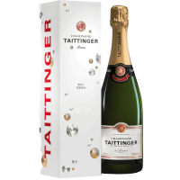 Taittinger Champagne Brut Reserve in Diamonds Geschenkpackung 0,75l