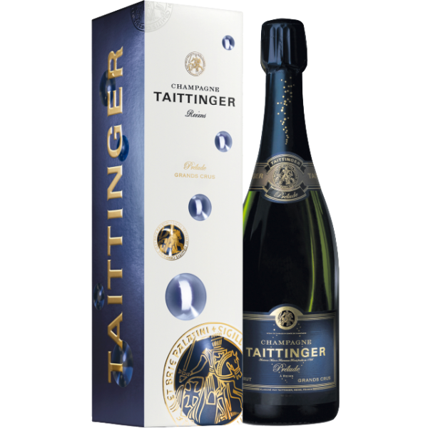 Taittinger Champagne Brut Prelude in Bubble Geschenkpackung 0,75l