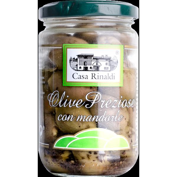 Eingelegte Oliven - Olive Preziose mit Mandeln | Casa Rinaldi