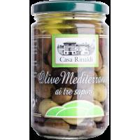 Eingelegte Oliven - Olive Mediterranee ai tre sapori    Casa Rinaldi