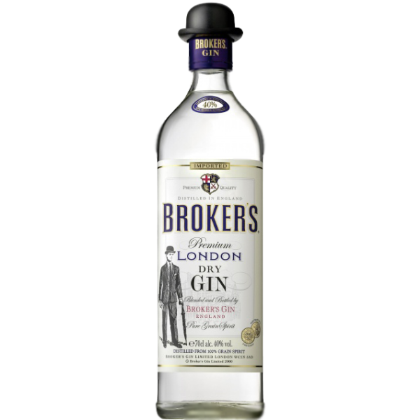 Brokers Gin London Dry Gin 40,0% Vol., 0,7 Liter
