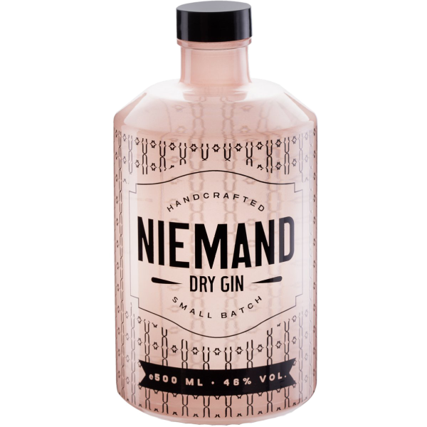 Niemand Handcrafted Dry Gin 46,0% Vol., 0,5 Liter