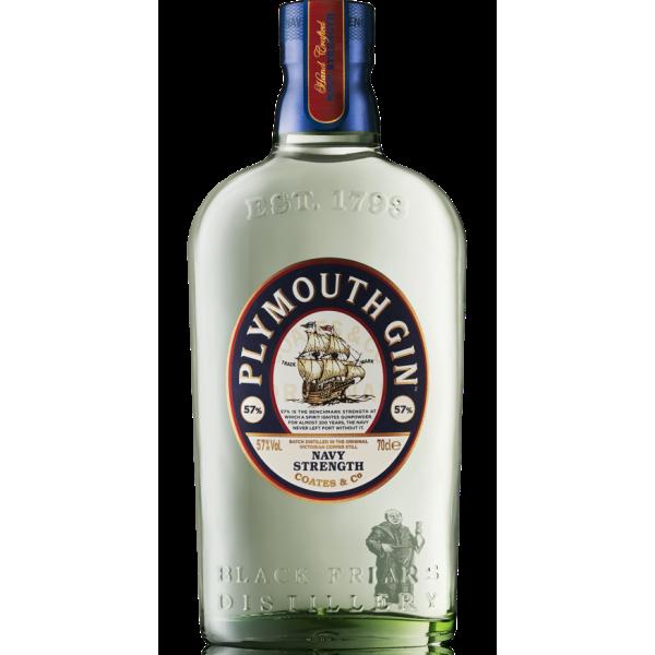 Plymouth Navy Strength Dry Gin 57% Vol., 0,7 Liter