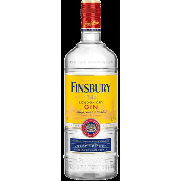 Finsbury London Dry Gin 37,5% Vol., 0,7 Liter