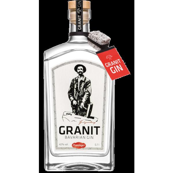 Granit Bavarian Gin 42% Vol. 0,7 Liter (Bio)