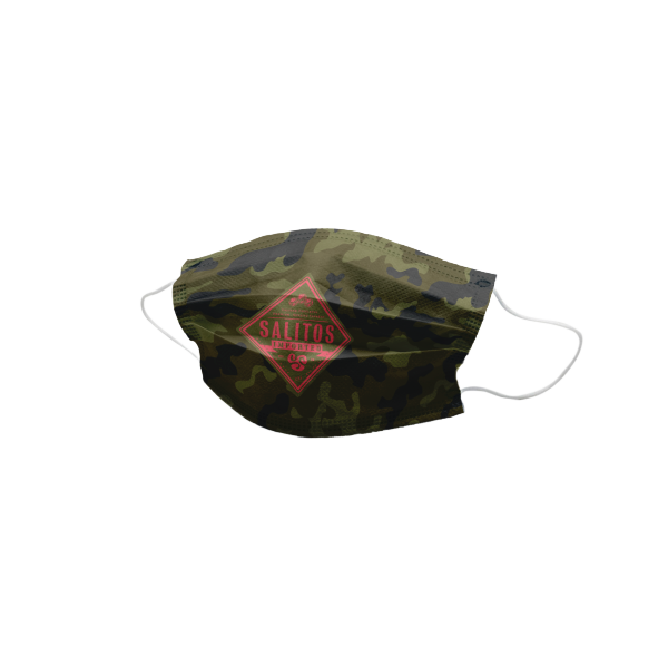 Salitos Camouflage Community Maske grün