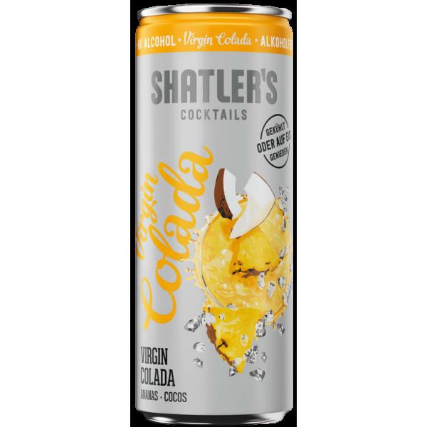 Shatlers Virgin Colada alkoholfrei 0,25 Liter Dose