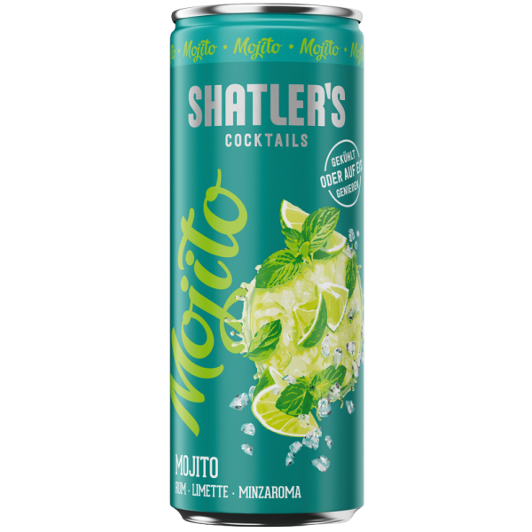 Shatlers Mojito 10,1% Vol. 0,25 Liter Dose
