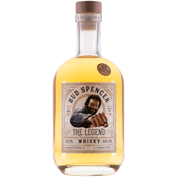 Bud Spencer -The Legend- Whisky 46,0% Vol., 0,7 Liter
