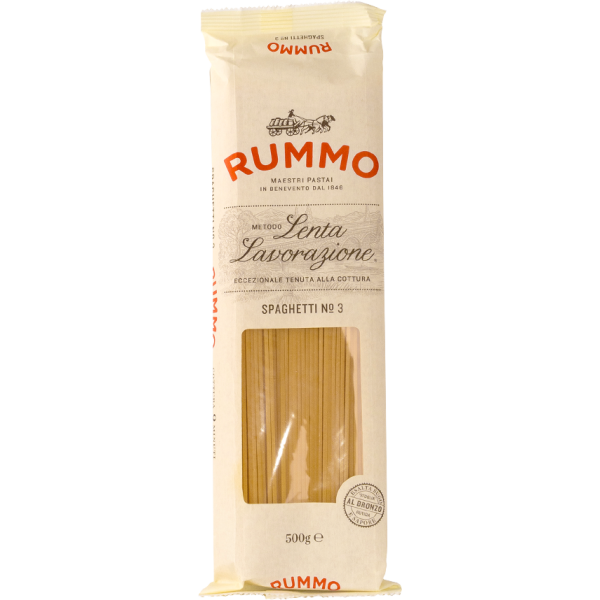 Spaghetti No. 3 - Nudeln aus Hartweizengrieß   Rummo