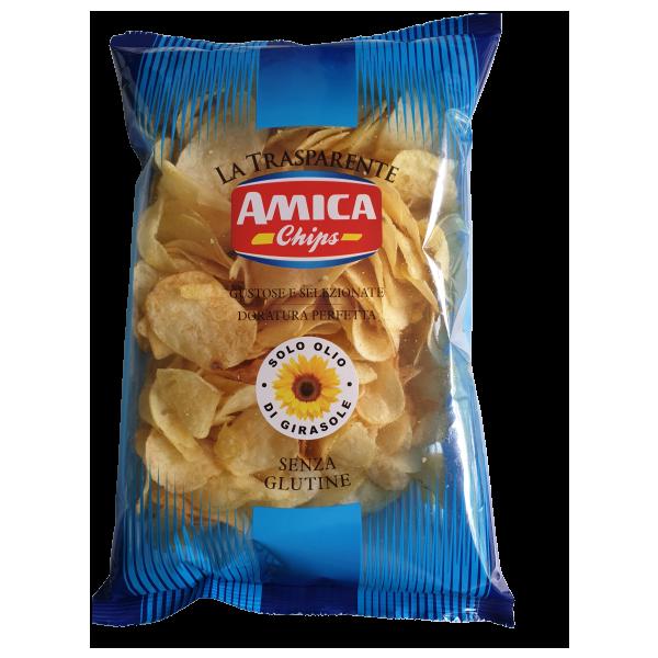 """Amica Chips Patatine salate """"Kartoffelchips gesalzen"""" 500 g"""