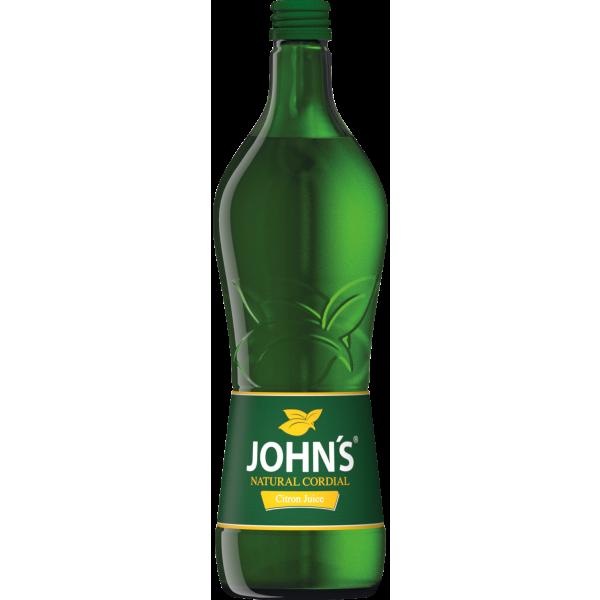 Johns Citron Sirup 0,7l