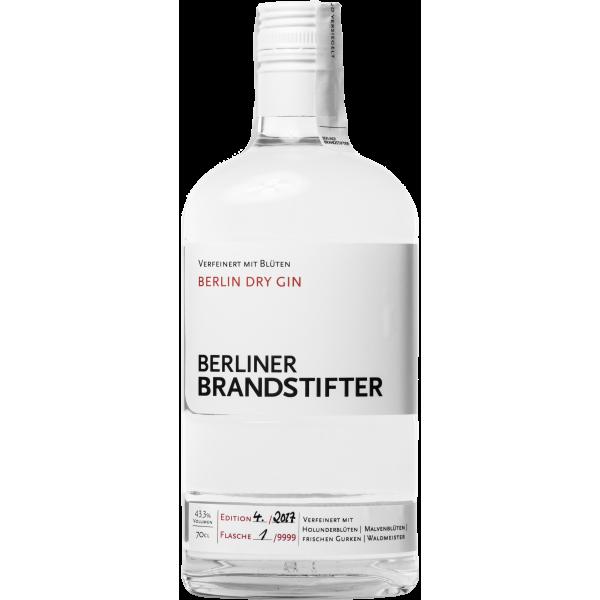 Berliner Brandstifter Dry Gin 43,3% Vol. 0,7 Liter